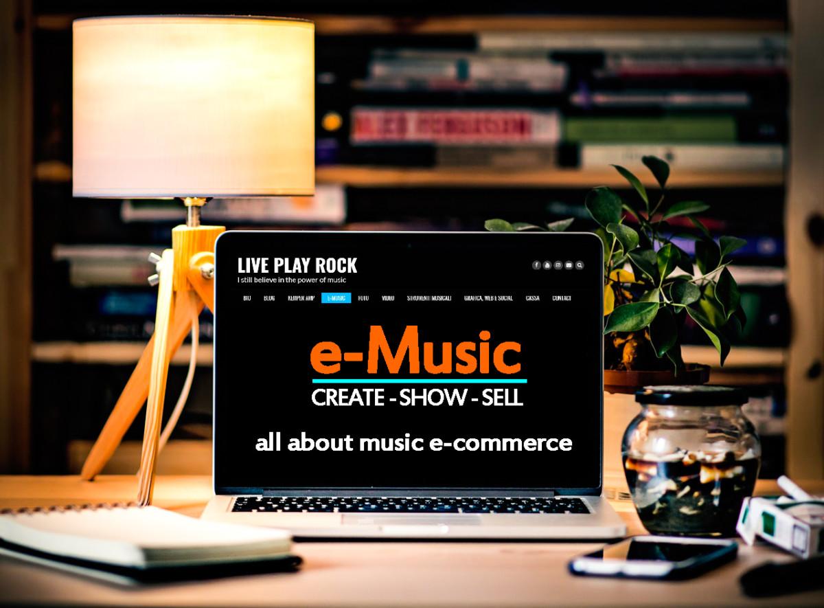 e-music digital ecommerce music