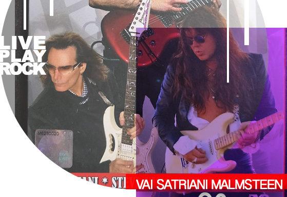 G3 Vai Satriani Malmsteen