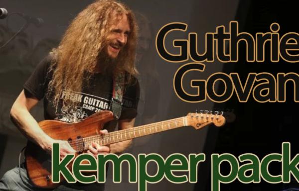 Guthrie Govan kemper pack