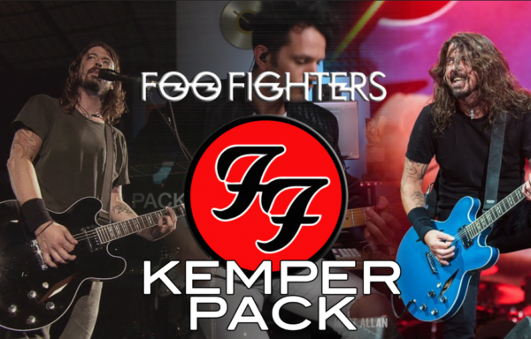 Foo Fighters kemper pack