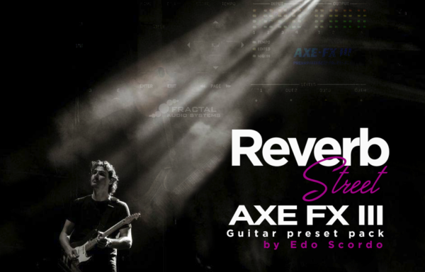 Reverb Street AXE FX3 pack
